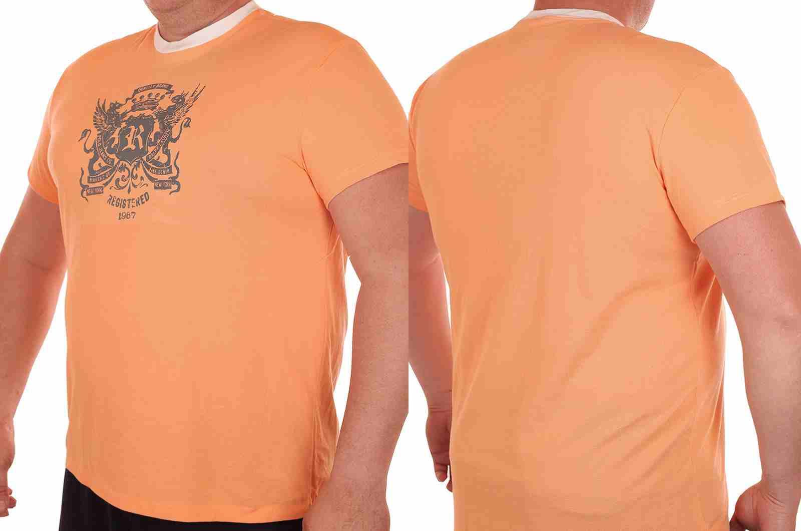 Молодёжная футболка из США от Ralph Lauren-двойной ракурс