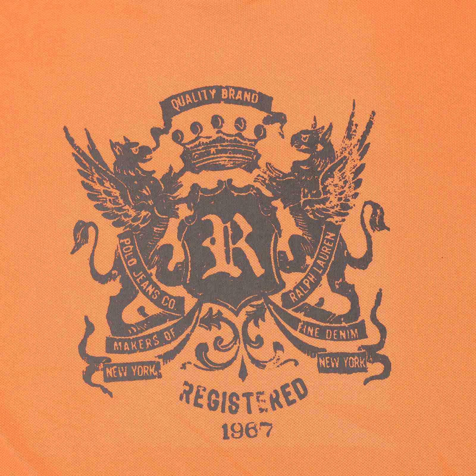 Молодёжная футболка из США от Ralph Lauren-принт