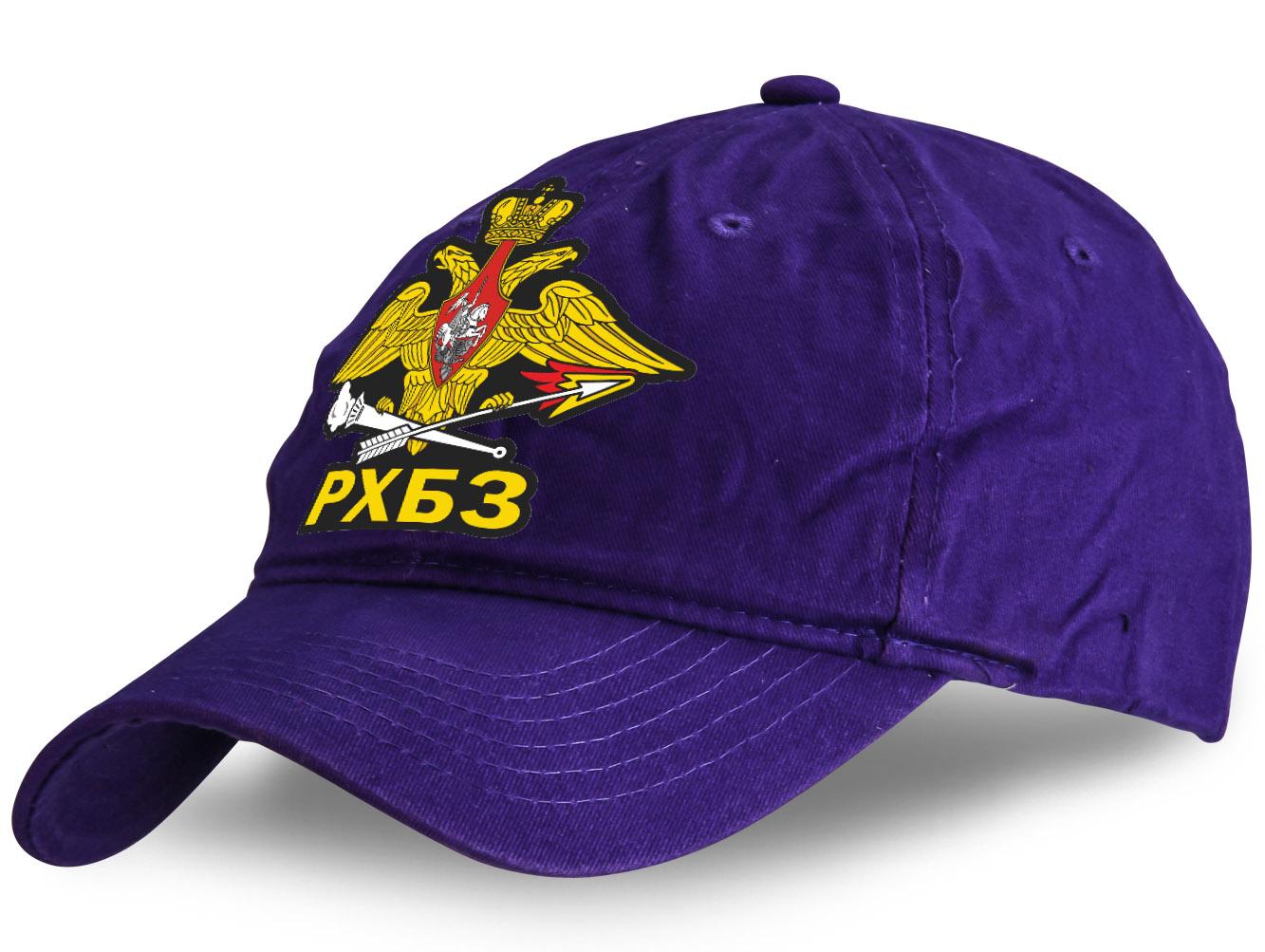 Молодёжная кепка с наклейкой РХБЗ