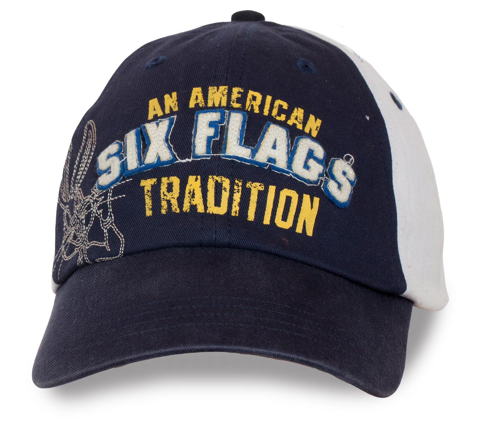 Молодежная кепка Six Flags.