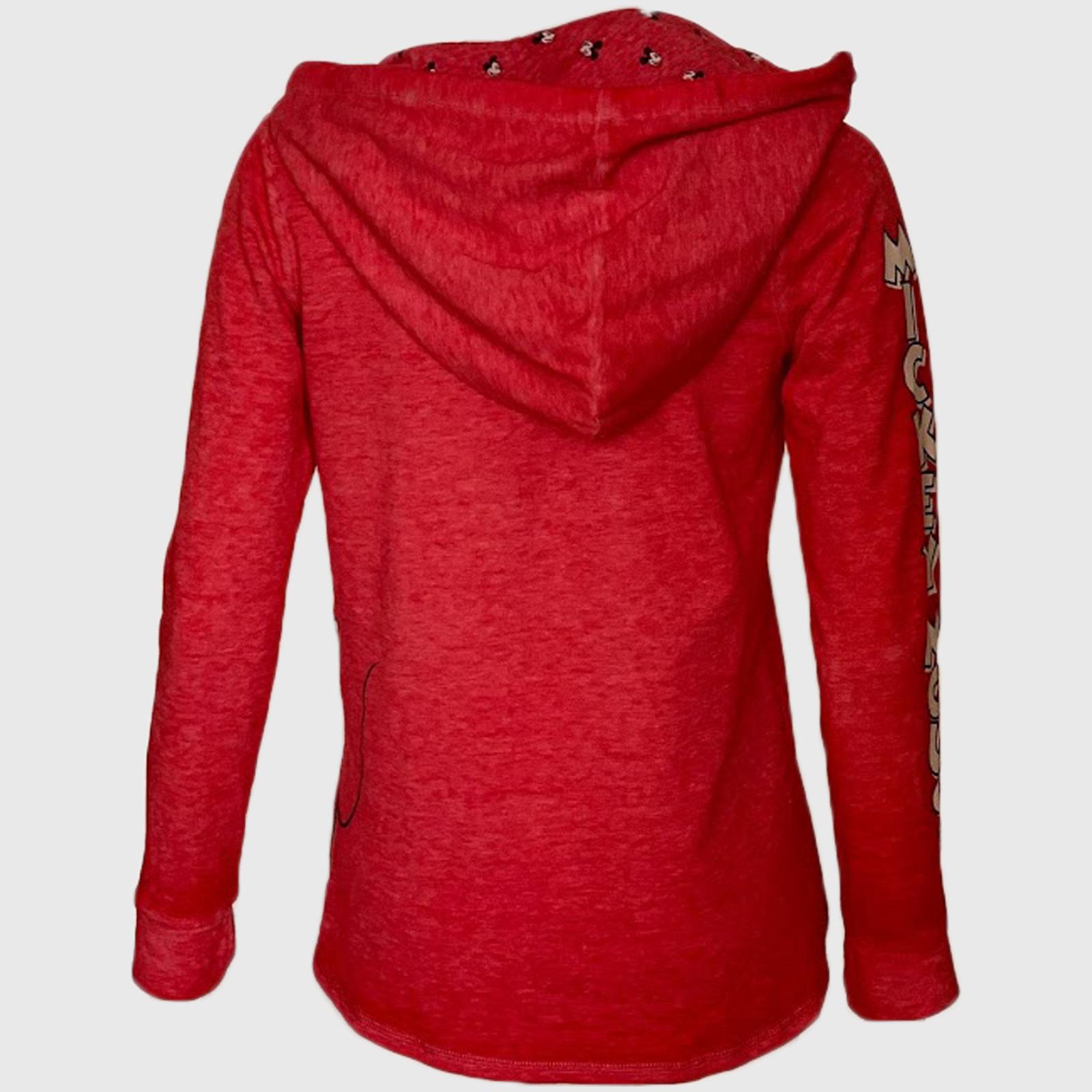 Купить в интернет магазине молодежную женскую кофту красного цвета