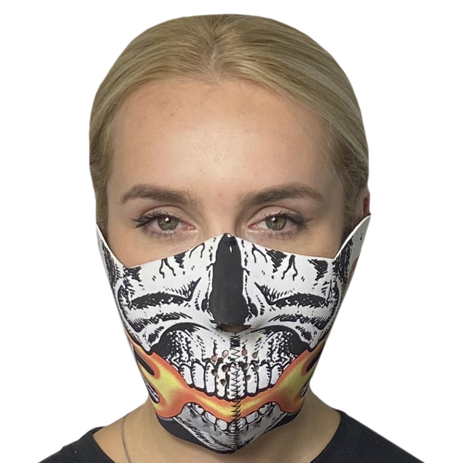 Молодежная медицинская маска с хоррор-принтом Skulskinz Smasher