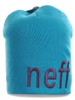 Молодежная шапка от Neff. Ультрасовременный дизайн, яркий цвет. Теплая и комфортная модель для любой погоды