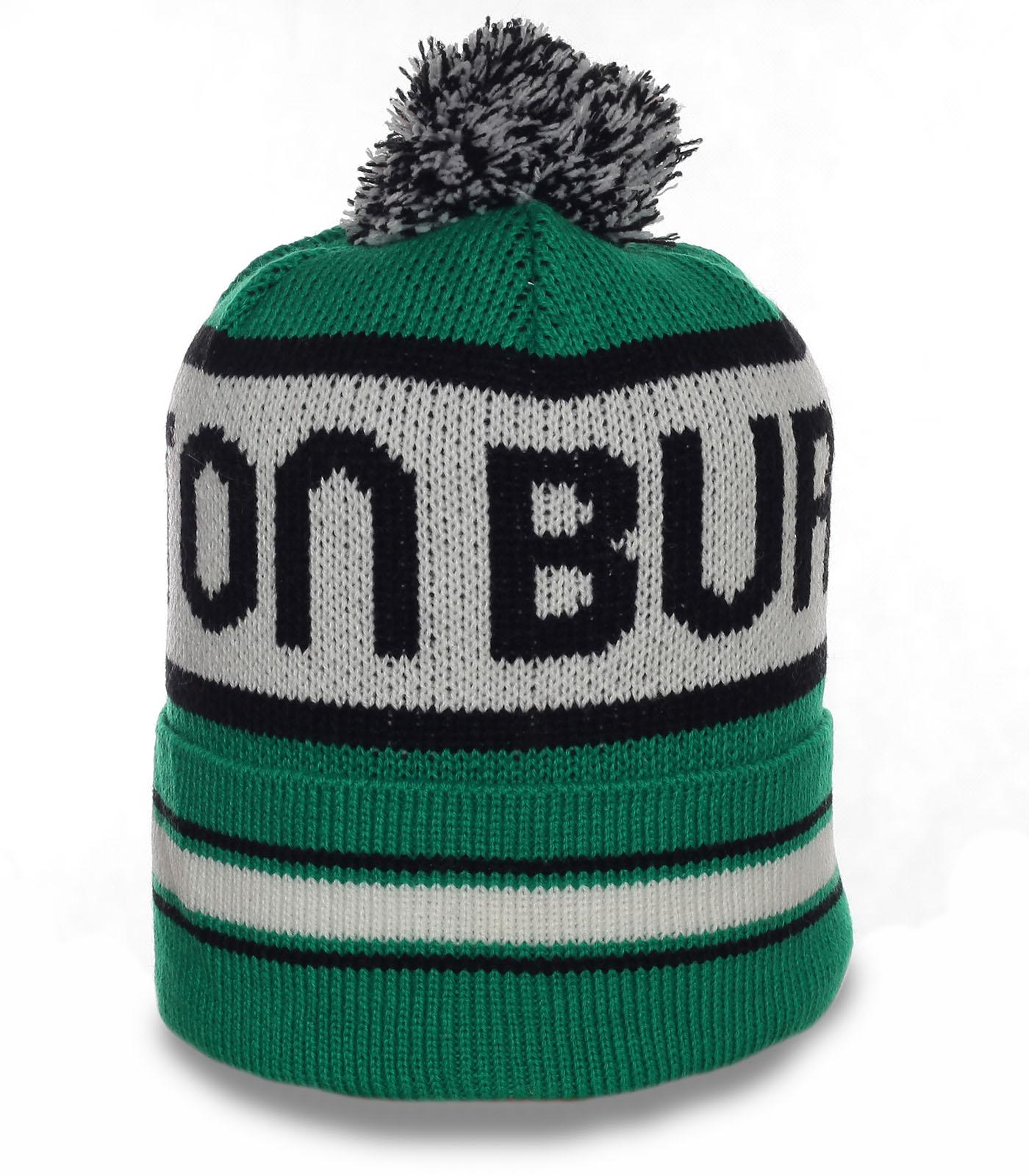 Молодежная шапка отменного качества солидного бренда Burton достойный аксессуар для спорта