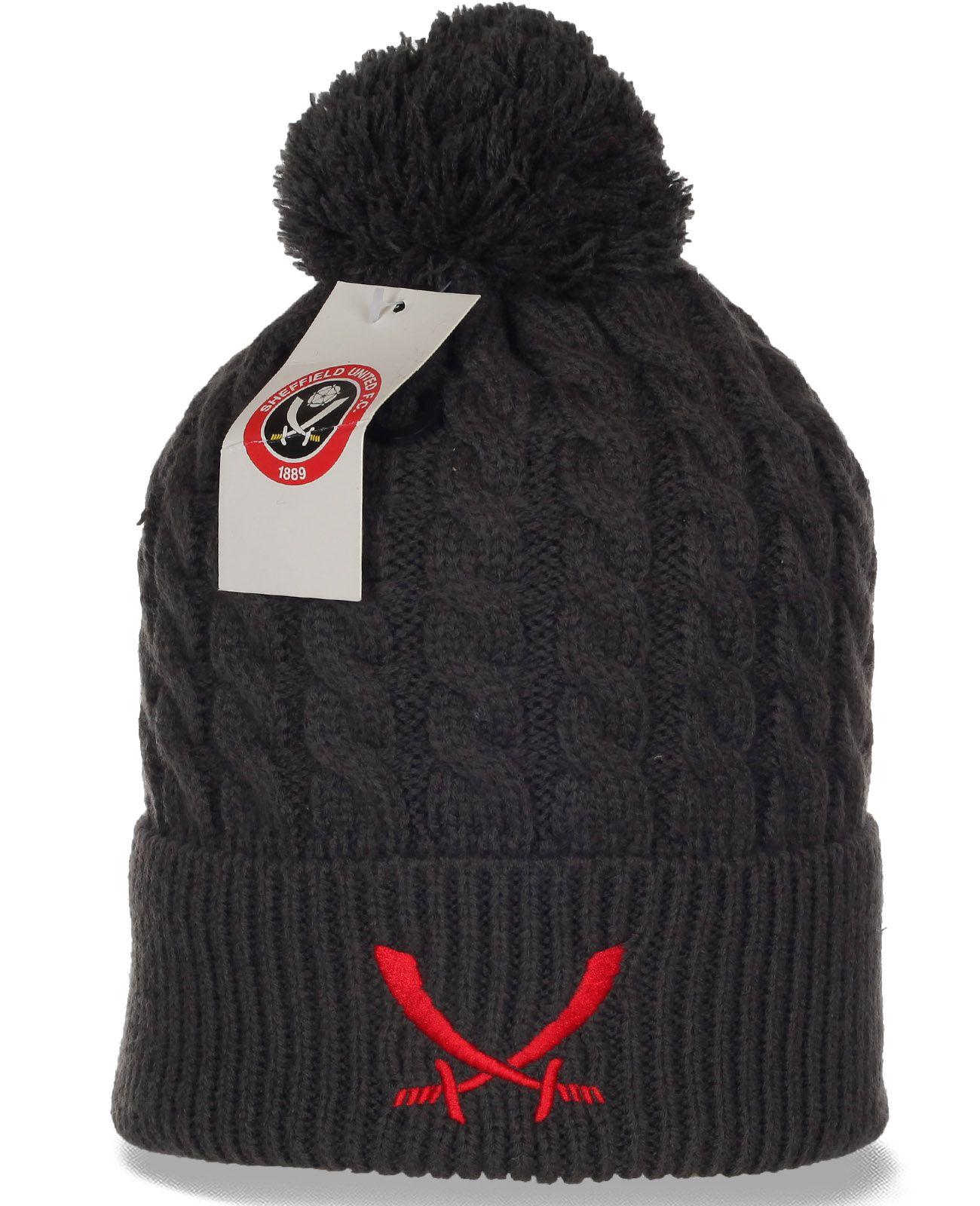 Молодежная шапка Sheffield. Теплая вязаная модель в современном дизайне