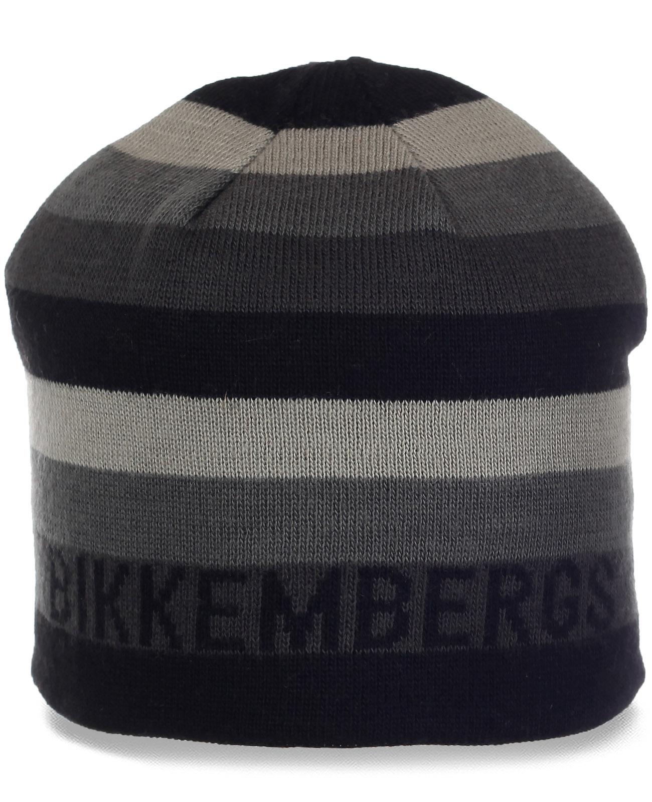 Молодежная шапка в стиле Casual от Bikkembergs