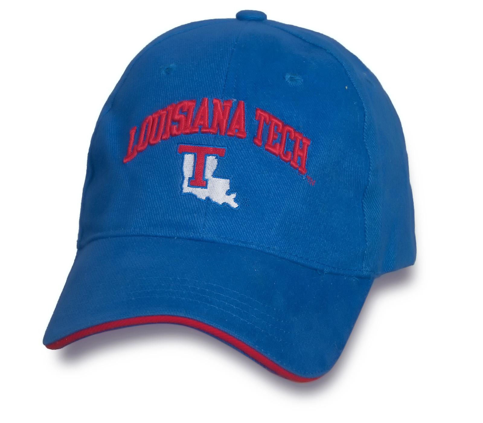 Молодежная синяя бейсболка Louisiana Tech