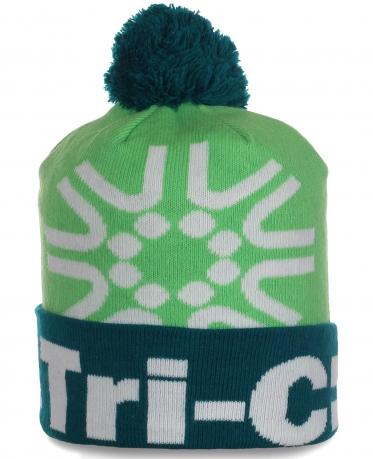 Молодежная спортивная шапочка с логотипом Tri-C