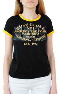 Молодежная женская футболка Body Glove® - вид спереди