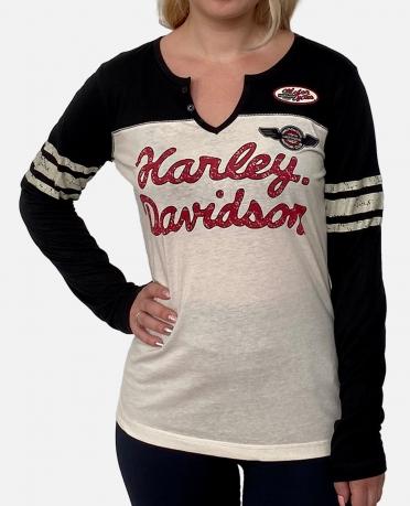 Молодежный женский реглан Harley-Davidson