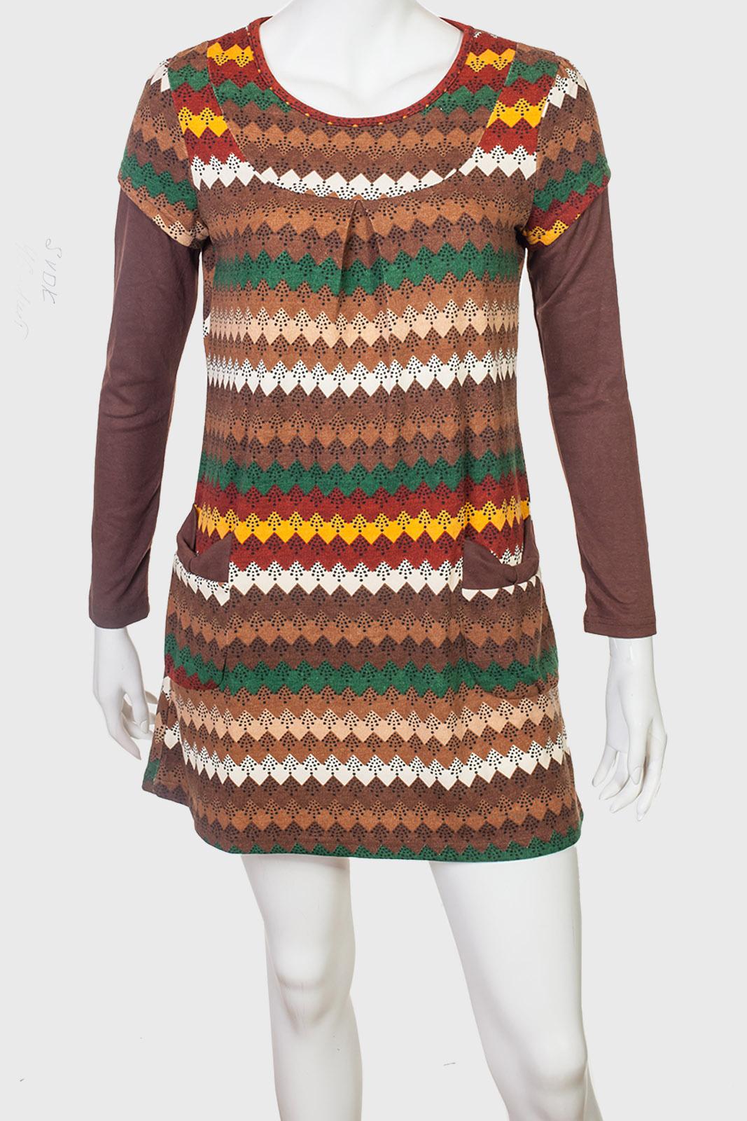 Молодежное короткое платье SVDK