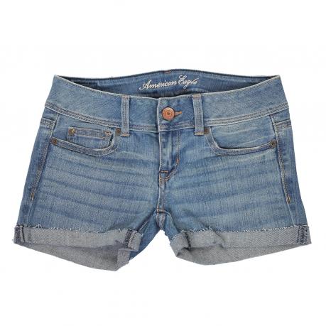 Купить молодежные джинсовые шорты-бойфренды