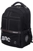 Молодежный черный рюкзак с нашивкой ДПС - заказать выгодно