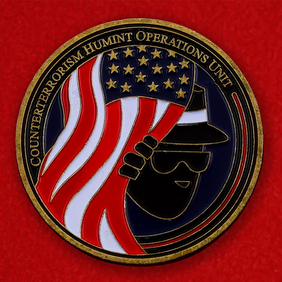 """Монета ФБР """"Отряд агентурной разведки"""""""