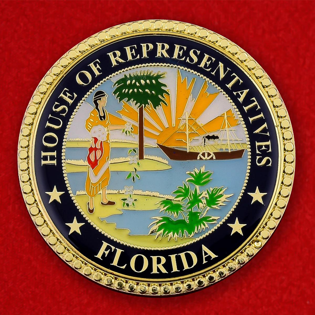 "Монета США ""Член палаты представителей штата Флорида Лейк Г. Рэй III"""