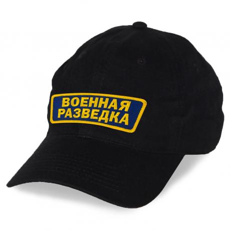 Монохромная кепка Военная разведка.