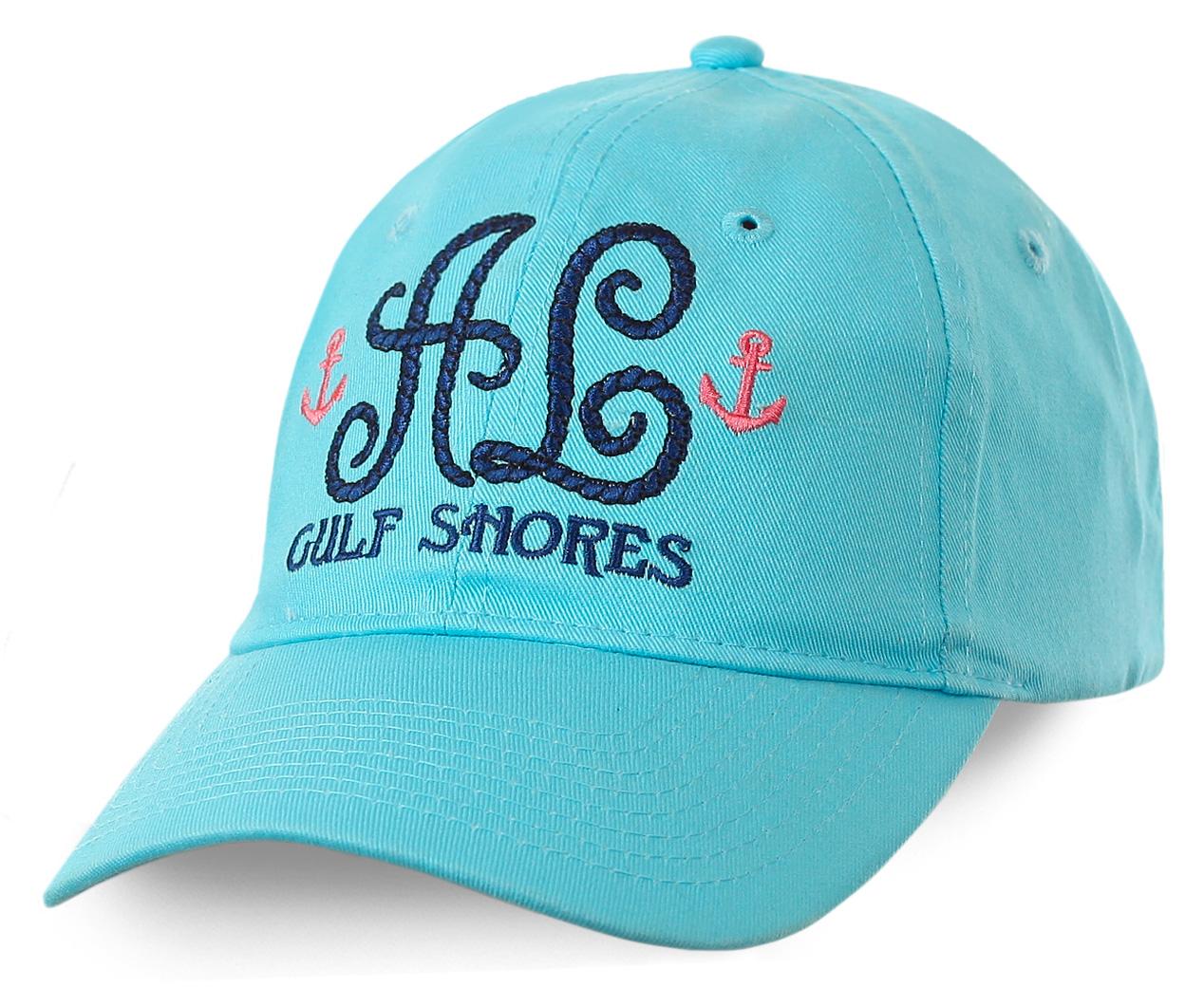 Морская бейсболка Gulf Shores - нежный цвет, аккуратный пошив, отличная женская модель
