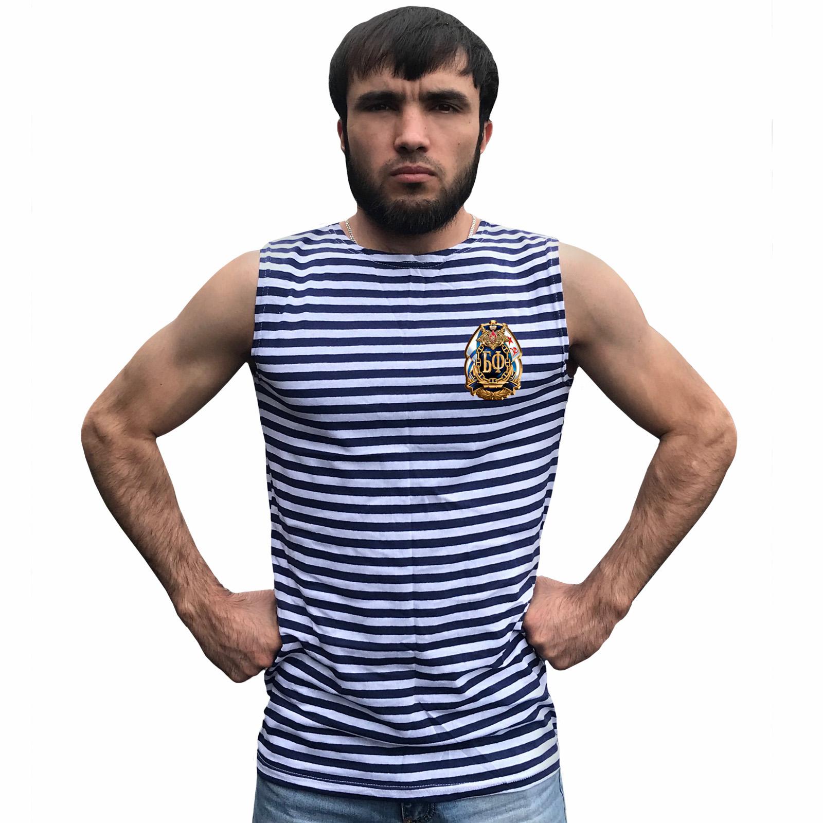 """Морская тельняшка """"Балтийский флот"""" оптом"""