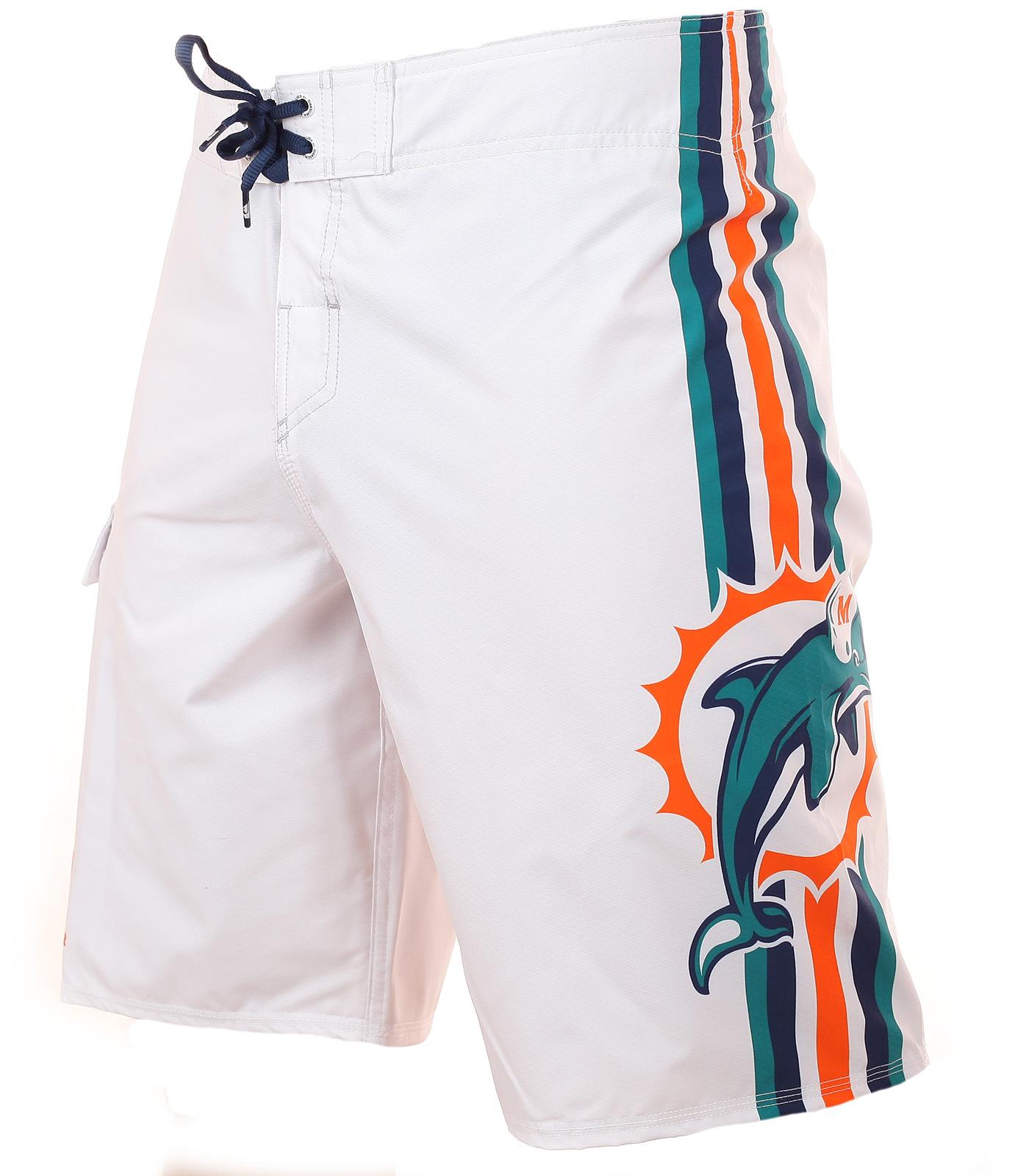 Морские бордшорты профессионального футбольного клуба Miami Dolphins