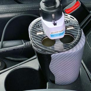 Мощное универсальное зарядное USB-устройство инвертор для автомобиля
