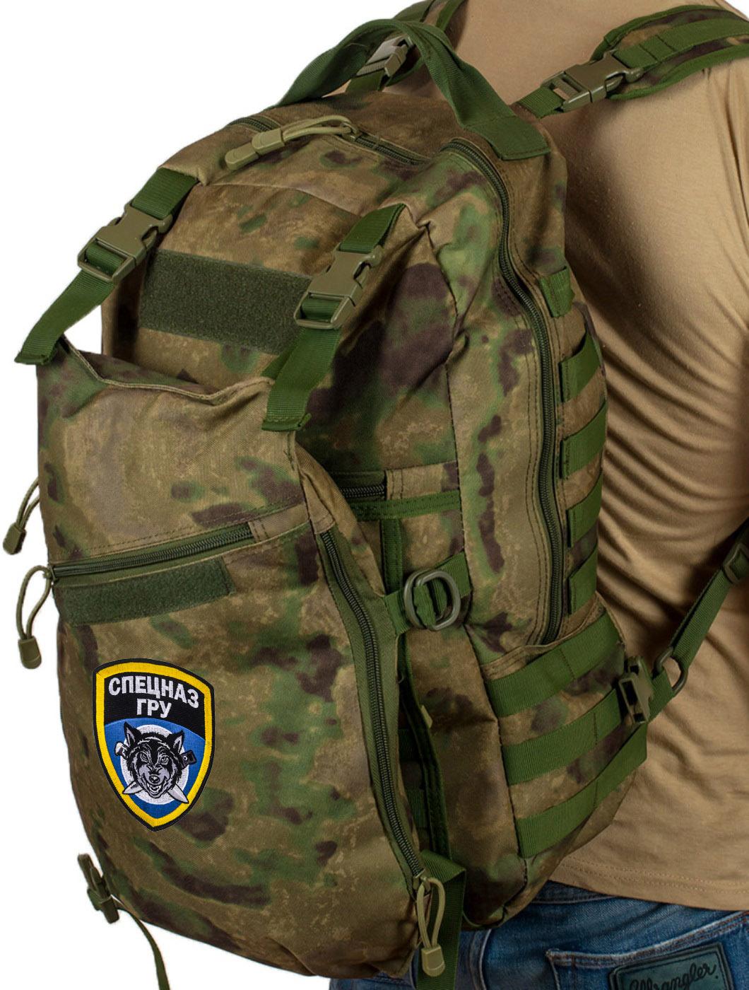Мощный рейдовый рюкзак спецназовцев ГРУ