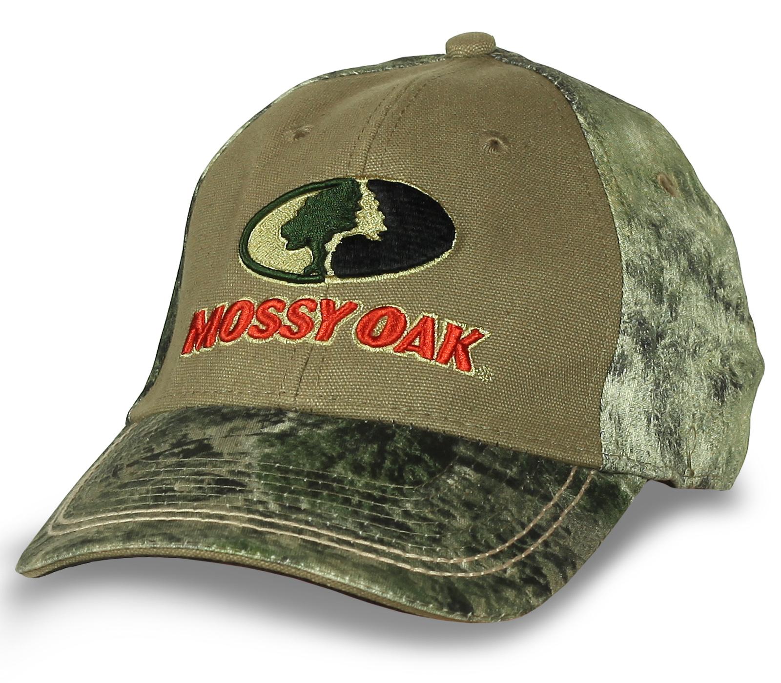 Mossy Oak бейсболка с лесным ярким камуфляжем