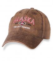 Фирменная мужская бейсболка ALASKA.