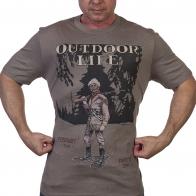 Фирменная мужская футболка Guide Life.