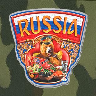 Мужская камуфляжная кепка Russia