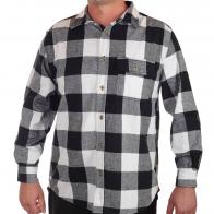 Мужская рубашка Old Mill в черно-белую клетку