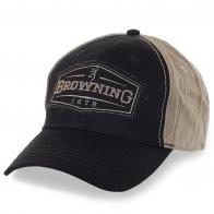 Комбинированная мужская бейсболка Browning – решай сам что, куда и когда носить!