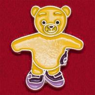 """Мультяшный значок """"Плюшевый медвежонок"""""""