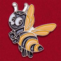 """Мультяшный значок """"Веселая пчелка"""""""