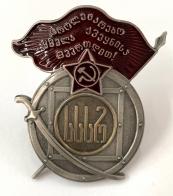 Муляж ордена Красного Знамени Грузинской ССР