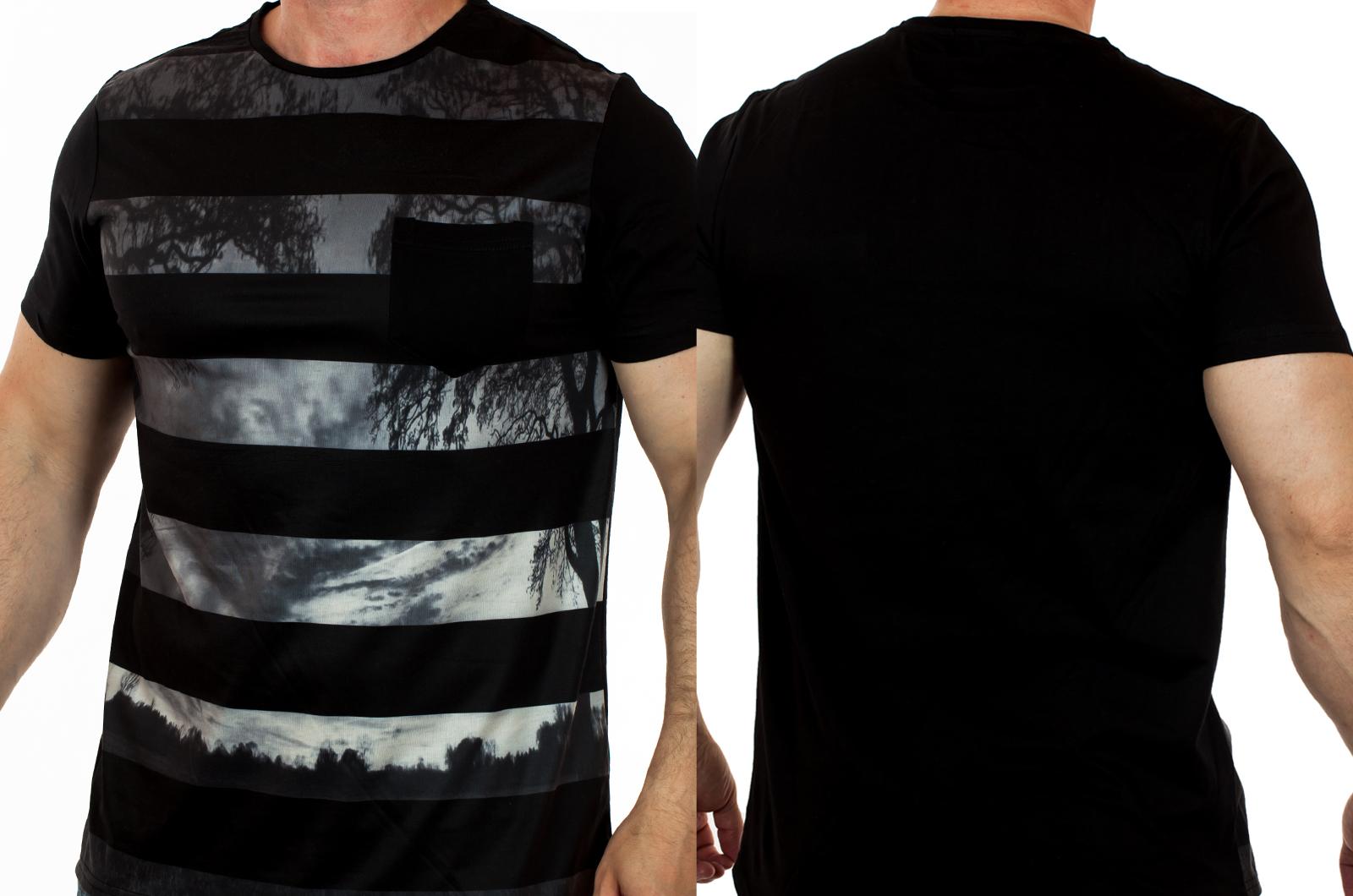 Внимание НОВИНКА! Мужская футболка Splash™ - твой модный OUTFIT