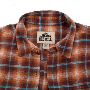 Клетка – главный принт сезона! Мужская рубашка Old Mill