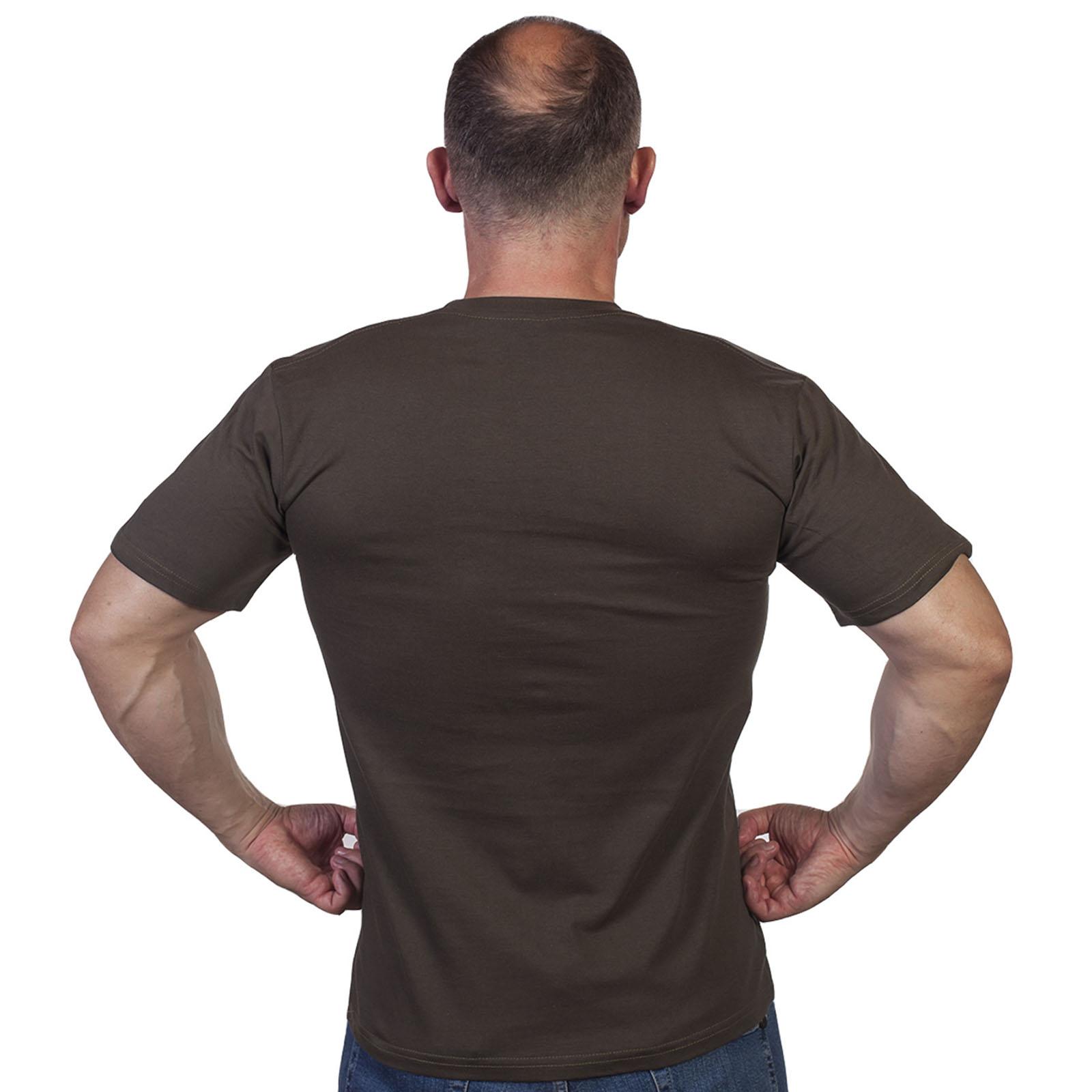 Мужская армейская футболка оливковая - купить недорого