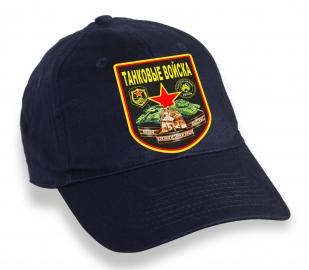 Мужская бейсболка с символикой Танковых войск