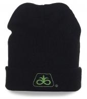 Мужская брендовая шапка черная DuPont Pioneer