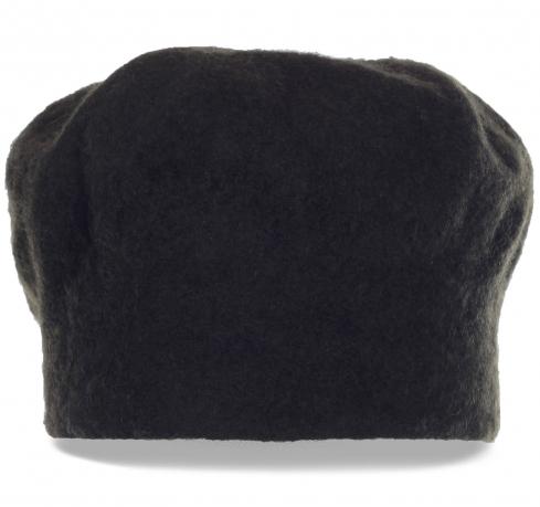 Мужская черная фетровая шапка. Оригинальный дизайн и первоклассное качество по привлекательной цене