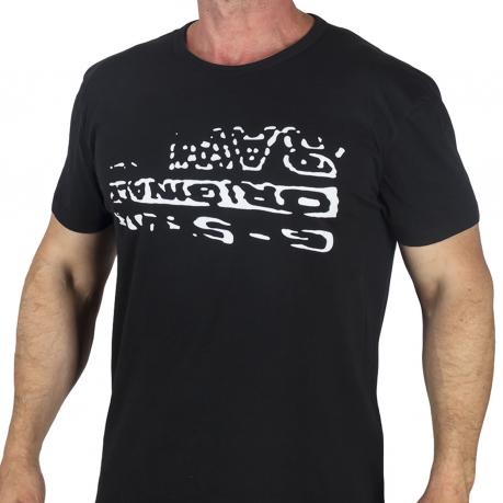 Мужская черная футболка с принтом от G-Star Raw®