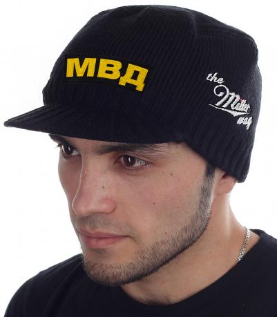 Мужская черная кепка МВД от Miller Way - купить выгодно