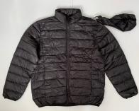 Мужская черная куртка на весну и осень
