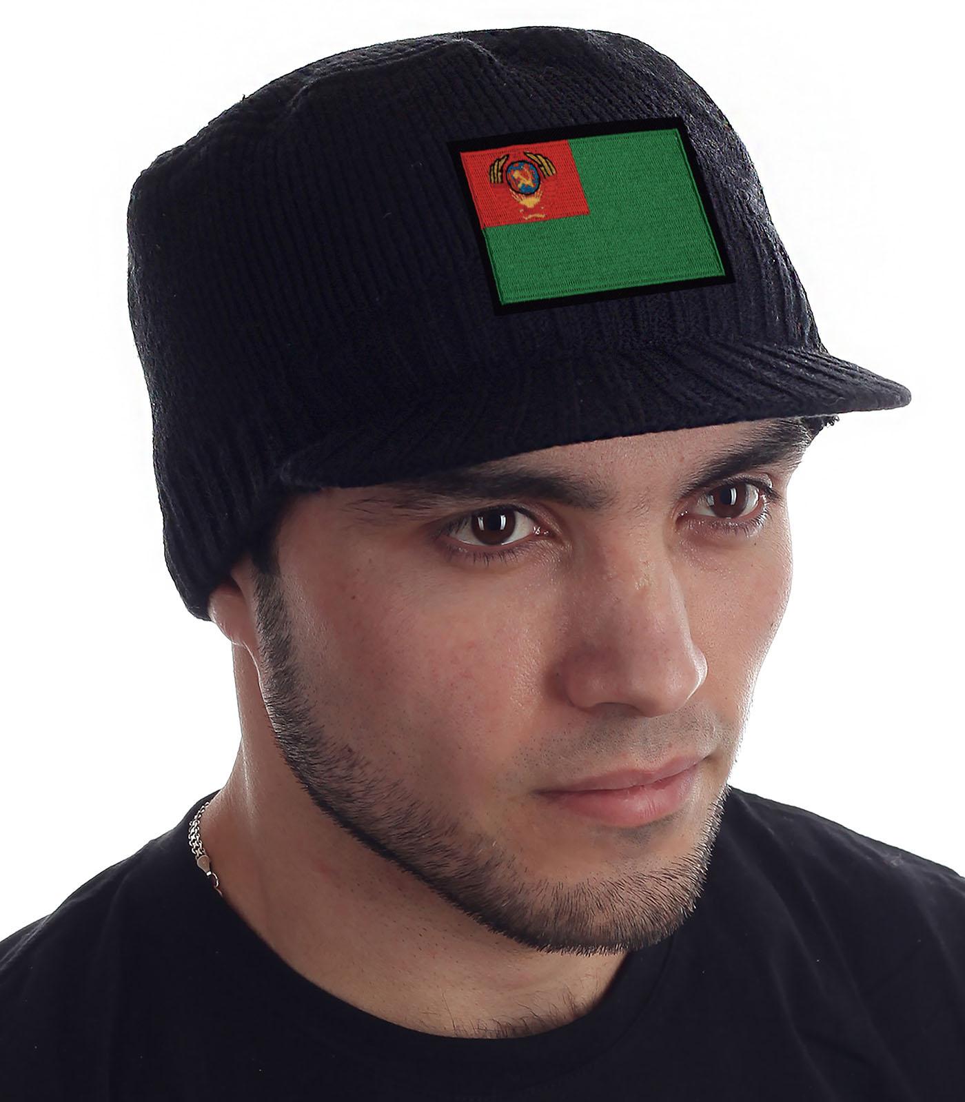 Купить мужскую черную шапку Miller Way в розницу или оптом