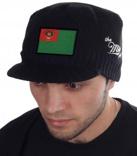 Мужская черная шапка Miller Way - купить онлайн