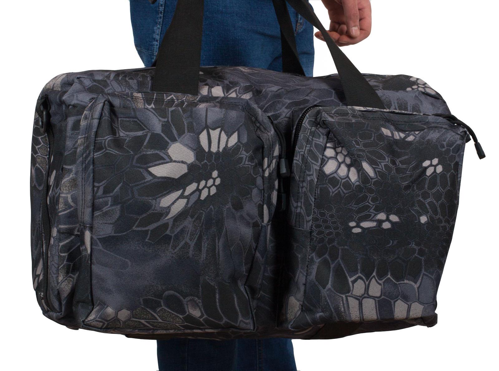 Мужская дорожная сумка камуфляж Kryptek Typhon недорого