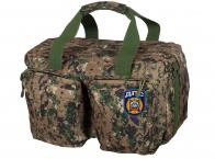 Мужская дорожная сумка с нашивкой ДПС