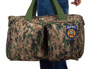 Мужская дорожная сумка с нашивкой ДПС - купить оптом