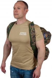 Мужская дорожная сумка с нашивкой ДПС - купить по низкой цене