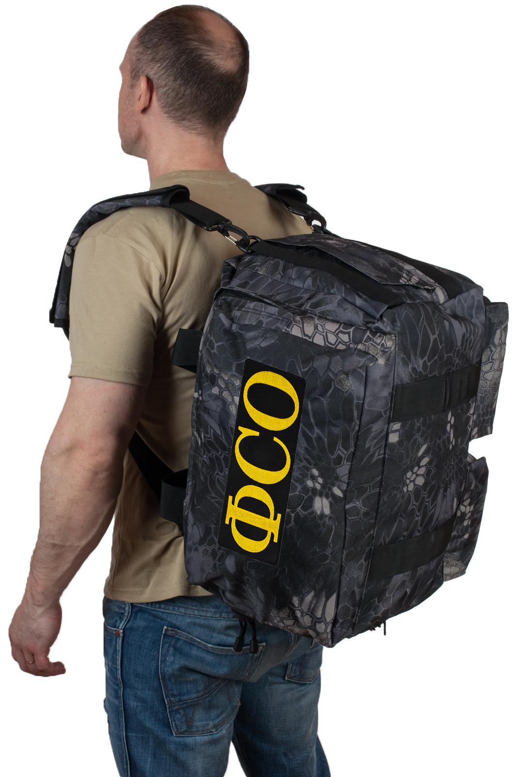 Купить мужскую дорожную сумку с нашивкой ФСО по лучшей цене